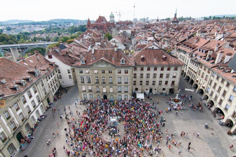 "Gross-Singen ""La Paz Cantamos"" am 16. September in Bern"