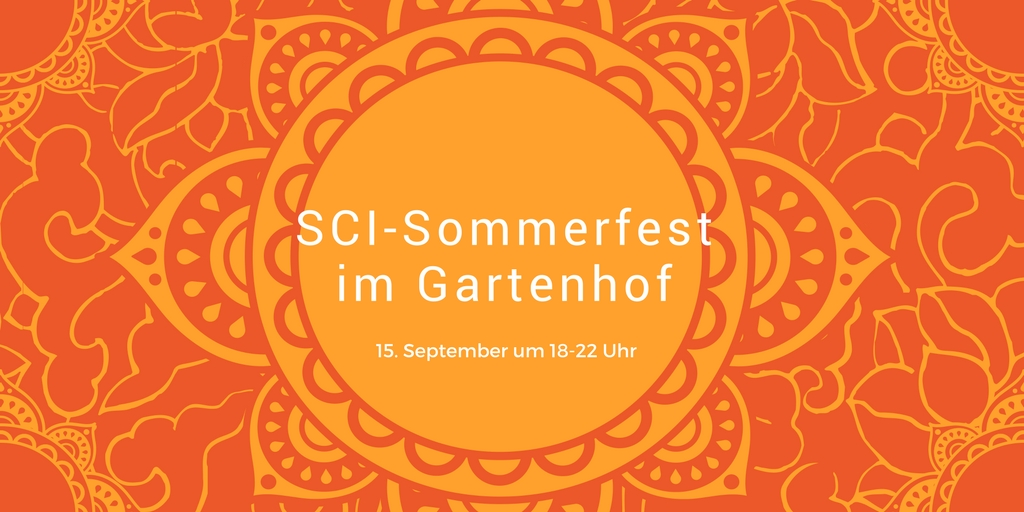 SCI-Sommerfest im Gartenhof am 15. September