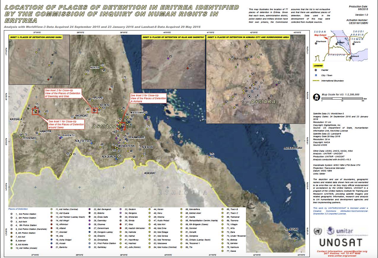 Zeitungsarchiv: Wo ist der Rechtsstaat in Eritrea?