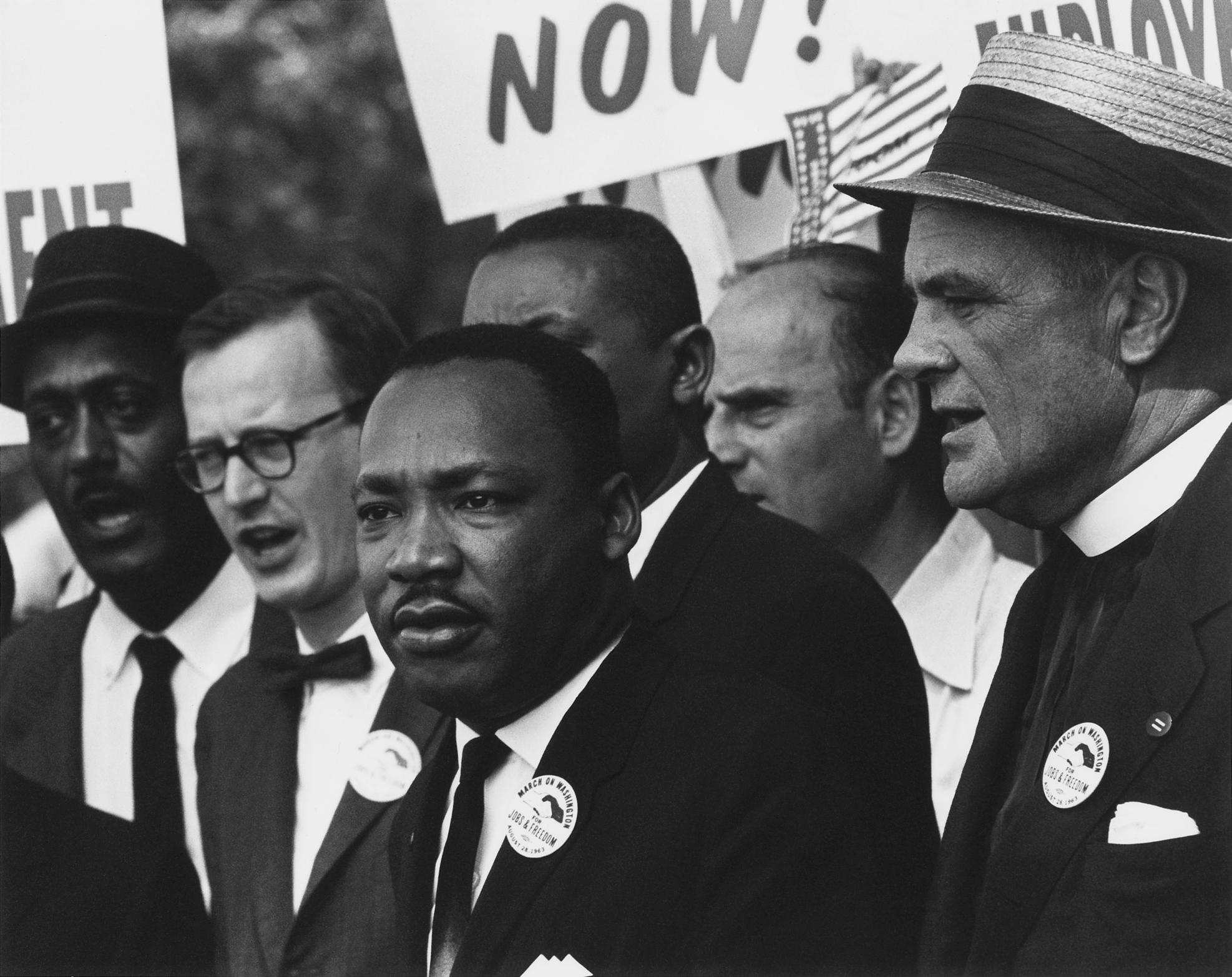 Martin Luther King JR zum Gedenken an den 50. Jahrestag seiner Ermordung