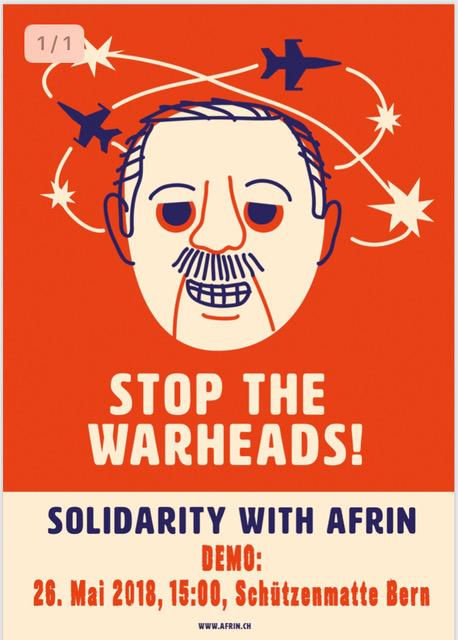 Demo: Solidarität für Afrin