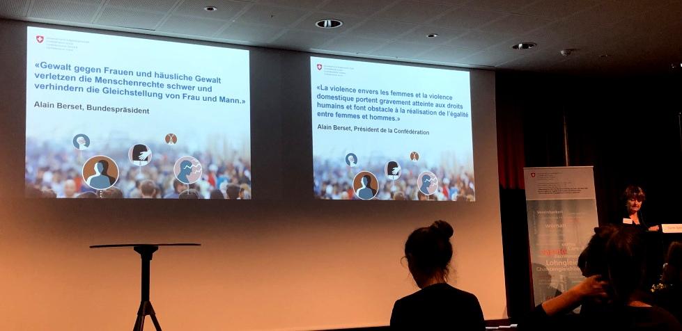 Bericht über die Konferenz zur Umsetzung der Istanbul-Konvention in der Schweiz vom 13. November 2018 in Bern